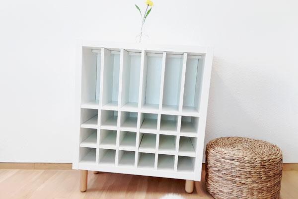 schiefes-Ikea-Regal-fuer-Schallplatten