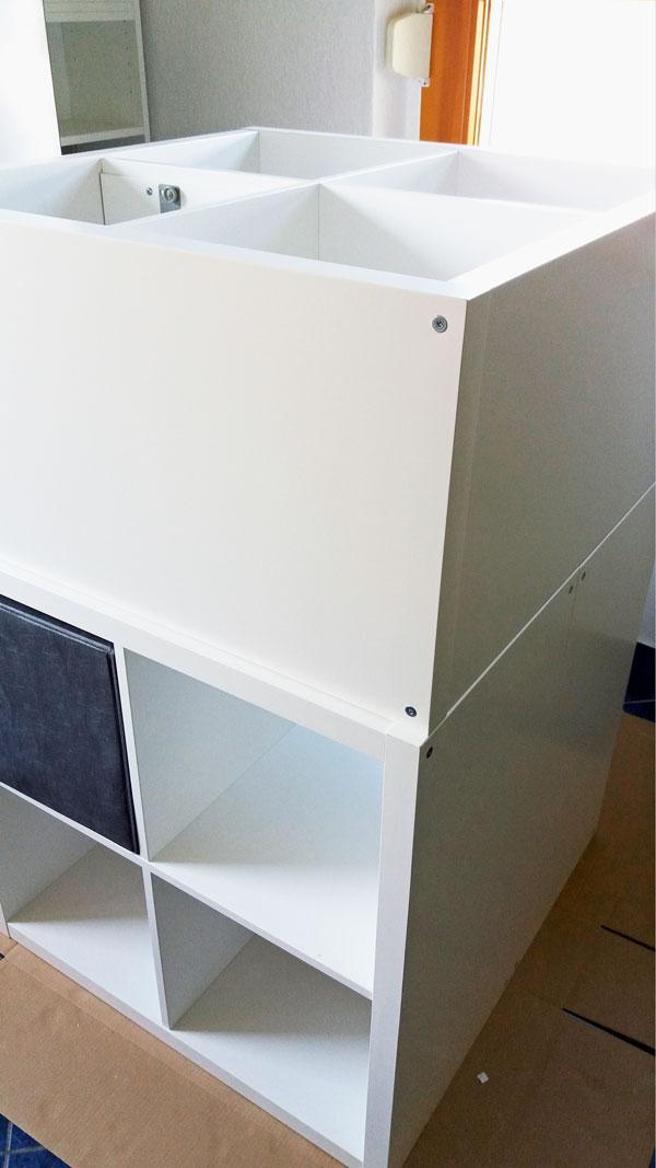 Ikea Hack K Cheninsel Kallax Korpus