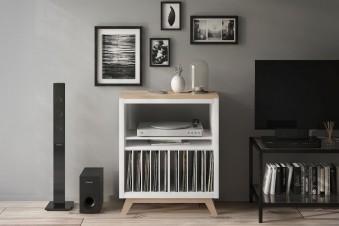 Schallplatten Aufbewahrung im Kallax Regal