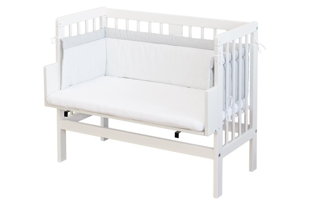 Dieses Baby Beistellbett passt auch an ein Ikea Malm Bett | New ...