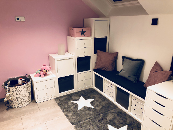 geniale ikea kallax eck l sung f r das kinderzimmer new swedish design. Black Bedroom Furniture Sets. Home Design Ideas
