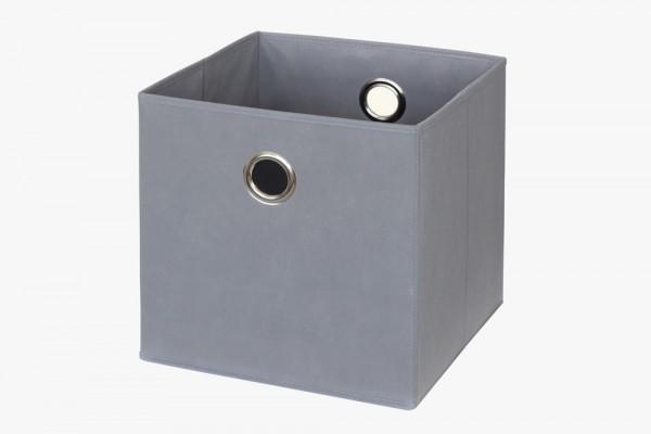 Ikea_Kallax_Fach_Box_Aufbewahrung_anthrazit_grau