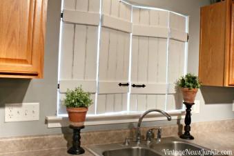 So baust du dir stylische Fensterläden im Vintage-Look!