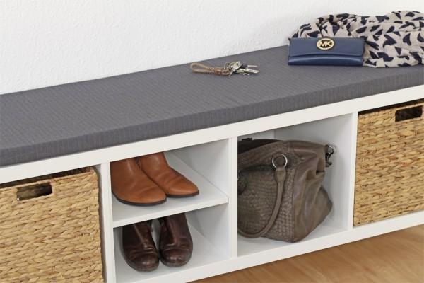 diese sitzauflage passt perfekt auf dein langes kallax regal von ikea new swedish design. Black Bedroom Furniture Sets. Home Design Ideas
