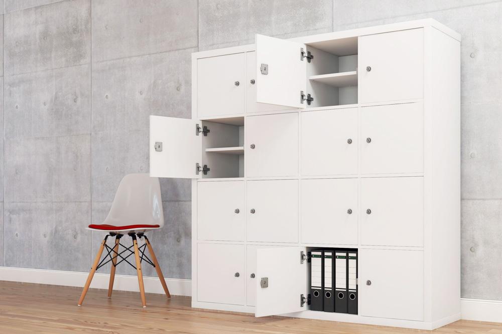 kallax regal hack der perfekte b roschrank f r dein. Black Bedroom Furniture Sets. Home Design Ideas