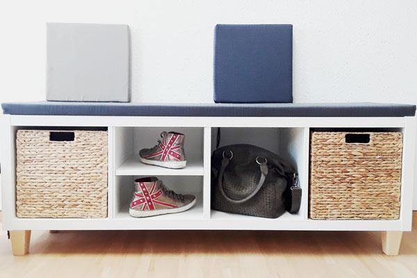Super Ikea Hack Kallax Als Sitzbank Bequem Und Stylisch New