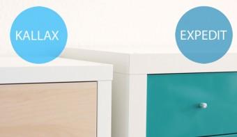 Expedit vs. Kallax Regal - Unterschiede im Detail