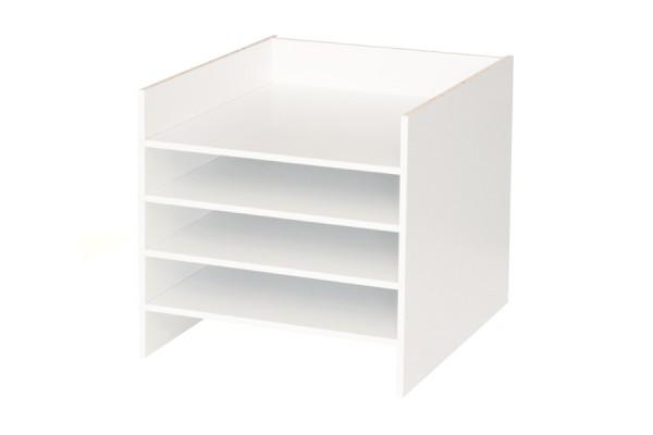 Postfach Regaleinsatz für weißes Ikea Kallax