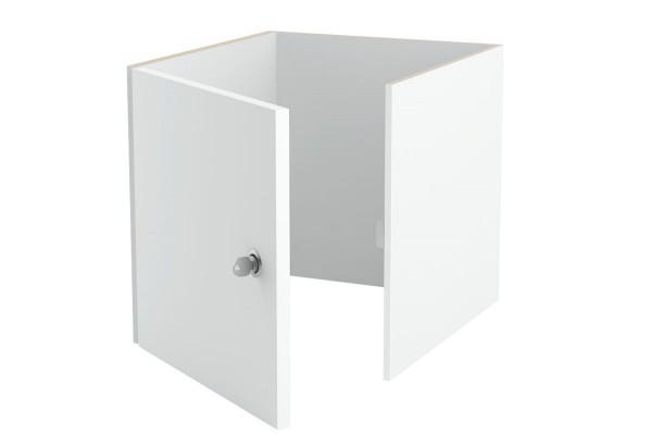 Abschließbarer Ikea Kallax Tür Einsatz