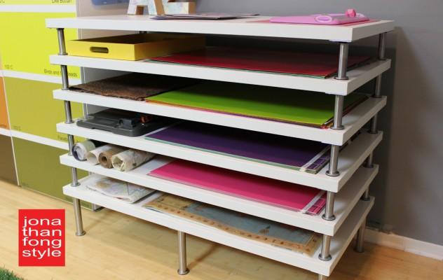Ikea_Linmon_als_Schreibtischunterlage