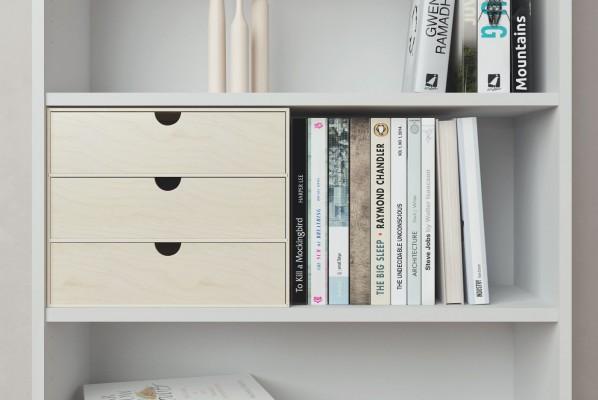 Schubladenkommode für Ikea Billy Regal