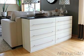 IKEA Hack: Wie aus deiner TARVA Kommode ein stylisches Sideboard wird