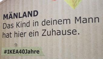 """Zum 40. Geburtstag von IKEA Deutschland kommt das """"Mänland"""" zu uns"""