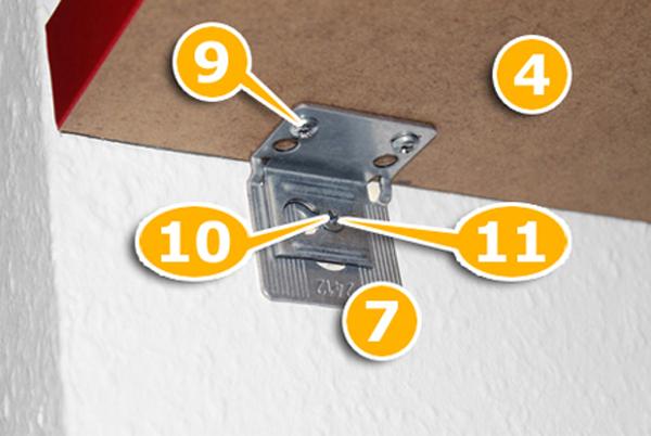 Ikea wandregal befestigung  Mit diesem Ikea Küchen Hack sparst du wahnsinnig viel | New ...