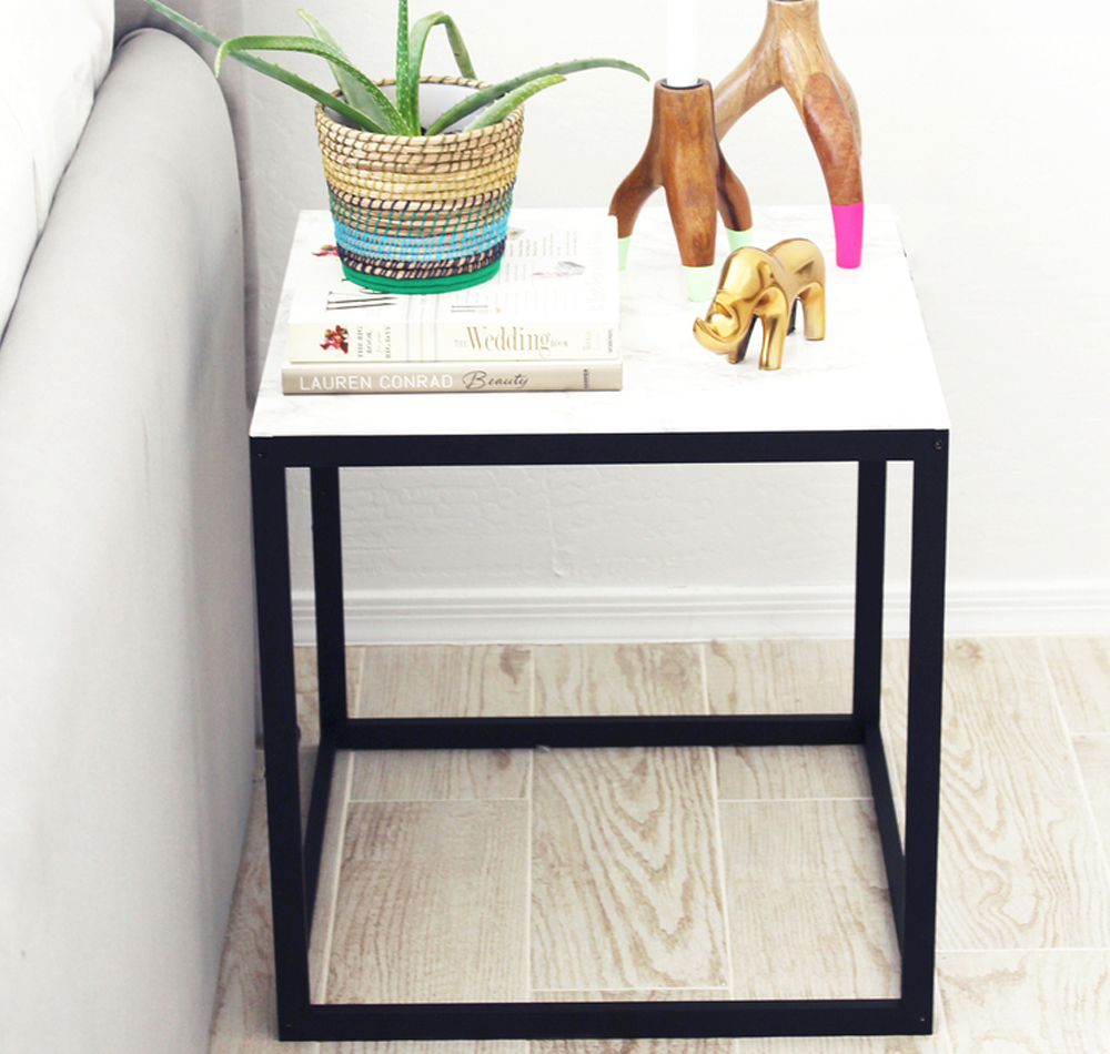 Diy Tutorial Ikea Beistelltisch Makeover New Swedish Design