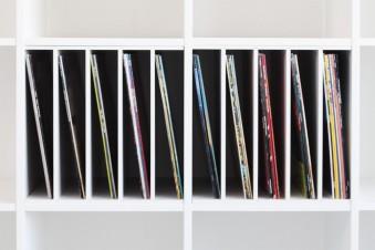 Ein Postfach macht dein Ikea Kallax zu einem Plattenregal