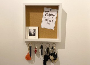DIY IKEA Schlüsselbrett Hack