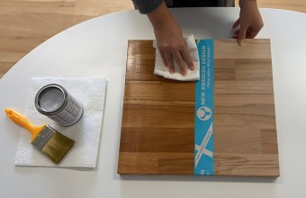 Kallax Holzplatte ölen