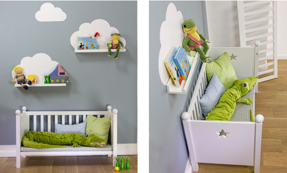 Ikea hacks f rs kinderzimmer new swedish design blog new swedish design - Wandregal kinder ...