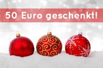 Unsere Weihnachtsaktion 2017 - Gewinne einen von drei 50€ Ikea Gutscheinen!