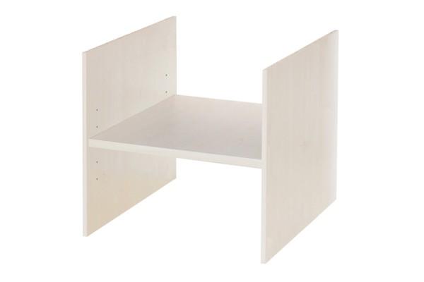 Ikea Kallax Regal Fach mit Boden in Birke mit Lochreihe
