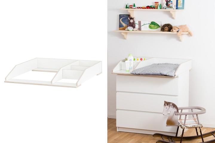 Wickelaufsatz-f-r-Ikea-Malm-Kommode