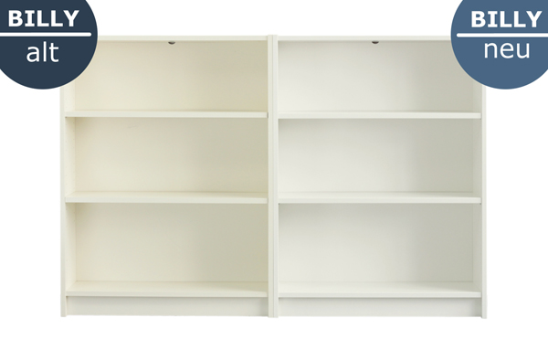 Bücherregal weiß ikea  Das ändert sich beim Ikea Billy Regal | New Swedish Design