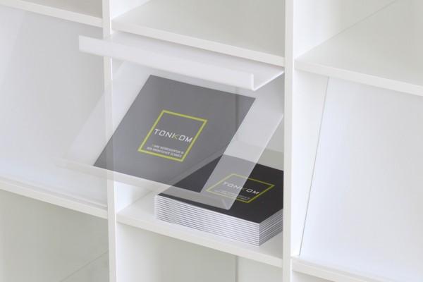 prospektklappe f r ikea kallax regal new swedish design. Black Bedroom Furniture Sets. Home Design Ideas