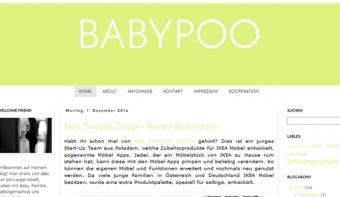 """Mamablog """"Babypoo"""" - Über Möbel-Apps und stylische Buchstützen"""