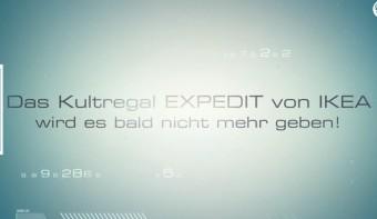 IKEA-Kultregal EXPEDIT soll durch KALLAX Regal ersetzt werden