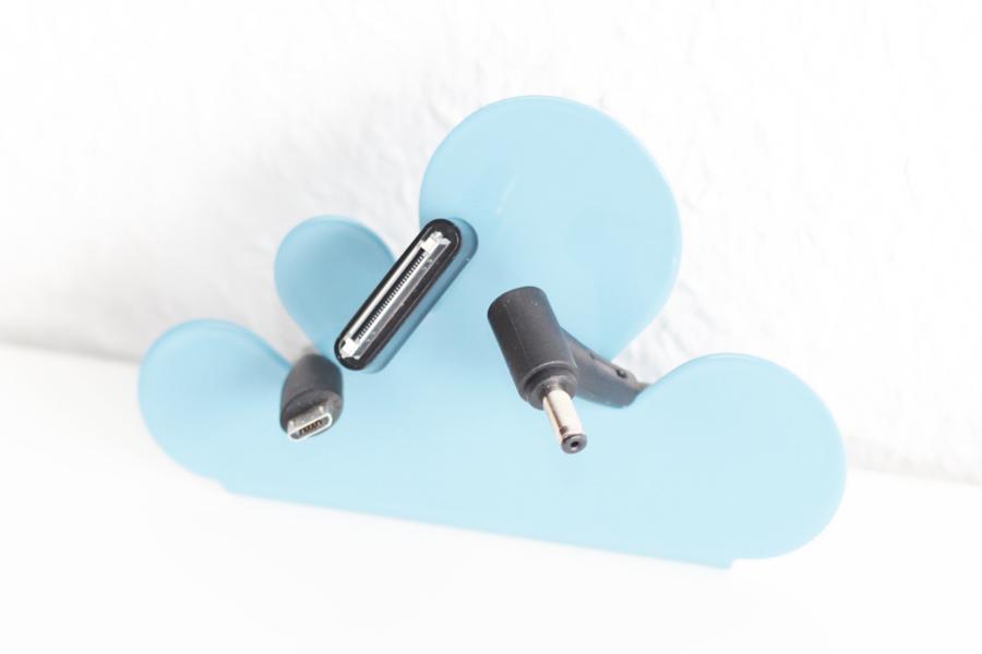 universal kabelhalter f r lade usb und monitorkabel new swedish design. Black Bedroom Furniture Sets. Home Design Ideas