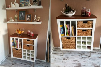 Ikea hacks new swedish design for Kallax ideen wohnzimmer