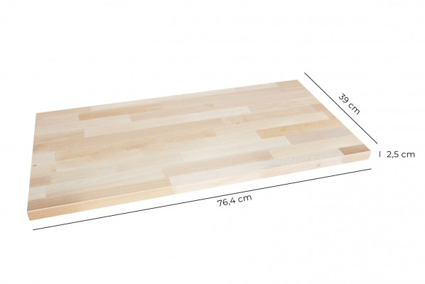 Kallax Regal Deckplatte aus Holz