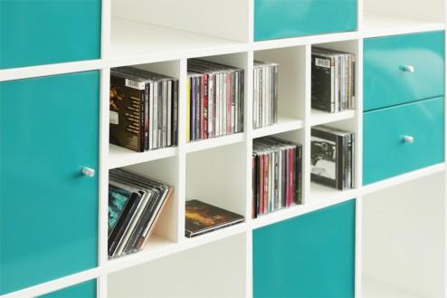 CD_Aufbewahrung_im_Ikea_Kallax-Regal