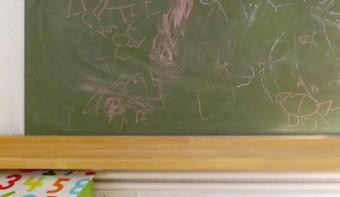 Tafel mit RIBBA: IKEA-Pimp für das Kinderzimmer