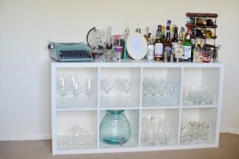 Eine Low Budget Minibar für deine Wohnung