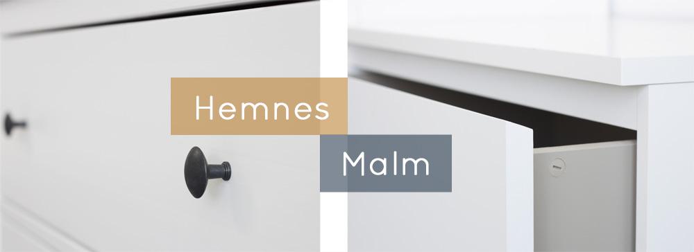 Kommode ikea malm  Malm oder Hemnes - welche Ikea-Kommode passt zu dir? | New Swedish ...
