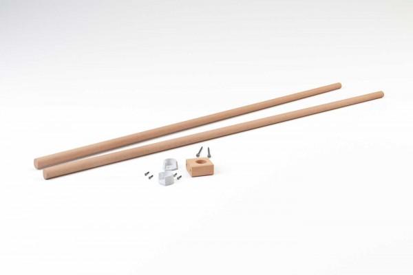 Ikea Kura Stange für Vorhänge