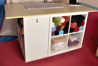 Ikea Hack: Im Handumdrehen zum eigenen Nähtisch