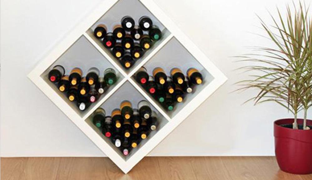 das ikea expedit regal auf den kopf gestellt new swedish design. Black Bedroom Furniture Sets. Home Design Ideas