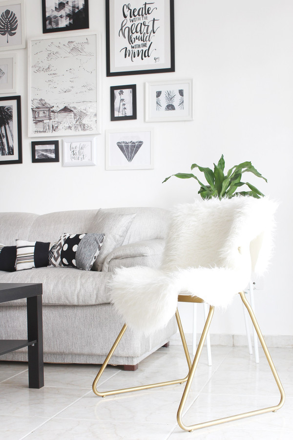 Ikea_Hack_Stuhl_mit_Fell_Scandi_Style