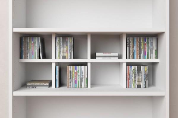 CD-Regaleinsatz für Ikea Billy