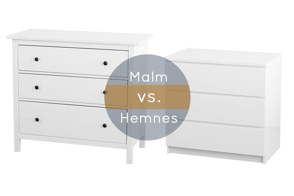 malm oder hemnes welche ikea kommode passt zu dir new. Black Bedroom Furniture Sets. Home Design Ideas
