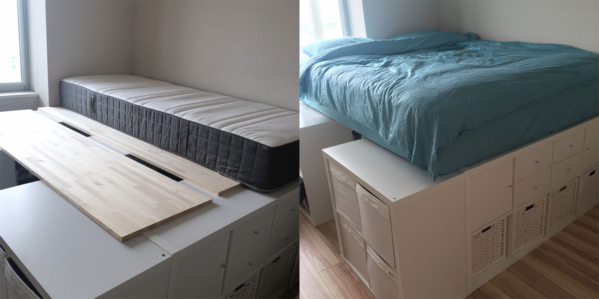 Bett-aus-Kallax-Regalen-bauen