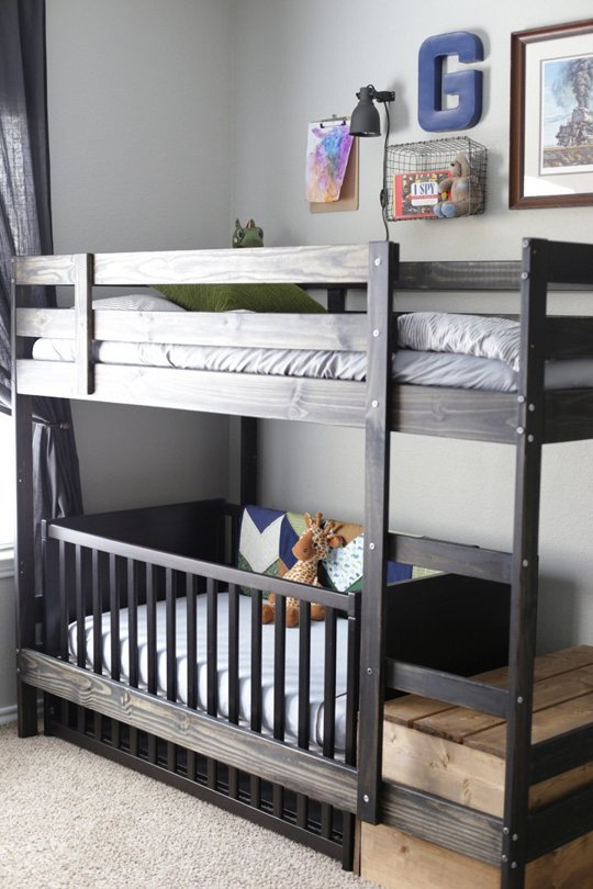 Ikea hack kinderbett  IKEA Hacks fürs Kinderzimmer | New Swedish Design BLOG | New ...