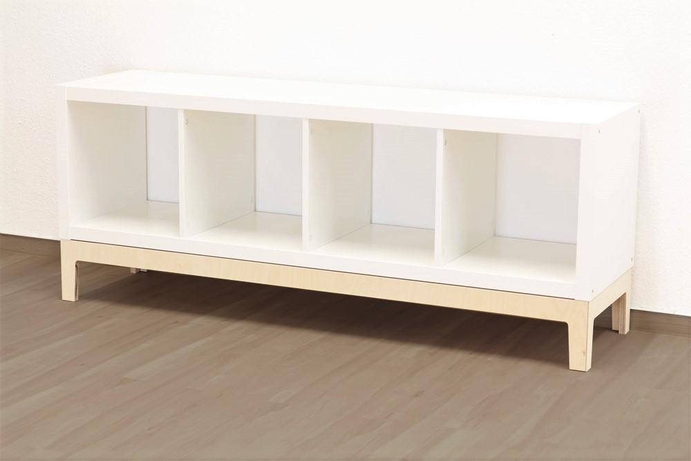 Ikea_Kallax_Regal_Untergestell_komplett