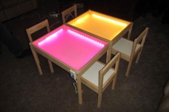 Schicke Lichteffekte für deine Ikea Möbel
