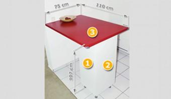 Ikea-Hack: Küchentheke für 66 Euro