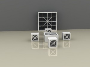 Kallax Regal Kombinationen: Neue Designstudien von Elmar Neis