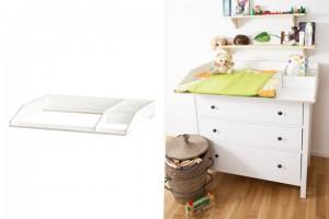 Ikea Hemnes Kommode und Wickelaufsatz mit Stauraum